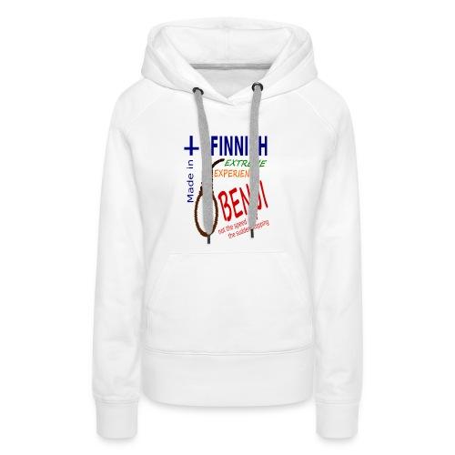 FINNISH-BENJI - Women's Premium Hoodie