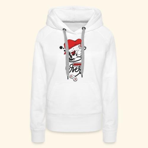 thegameOver - Sweat-shirt à capuche Premium pour femmes