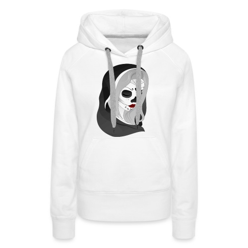 La Catrina - Frauen Premium Hoodie