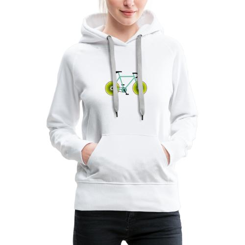 Kiwi Bike - Frauen Premium Hoodie
