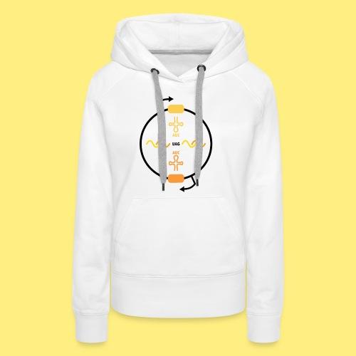 Biocontainment tRNA - shirt women - Vrouwen Premium hoodie