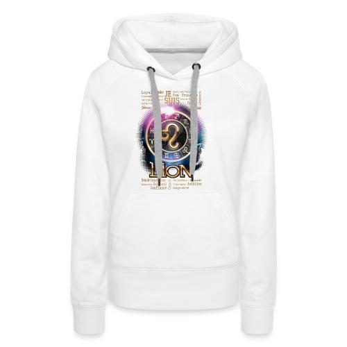 LION - Sweat-shirt à capuche Premium pour femmes