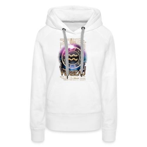VERSEAU - Sweat-shirt à capuche Premium pour femmes