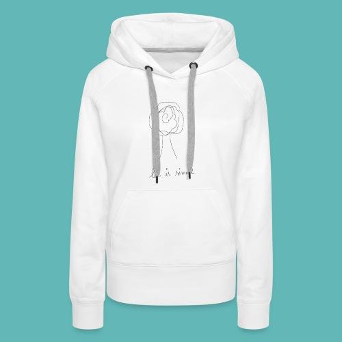 life2 - Sweat-shirt à capuche Premium pour femmes