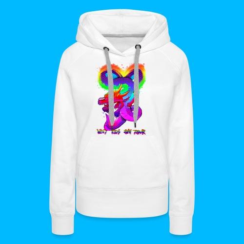 Wavy Kids On Tour Dragon - Women's Premium Hoodie