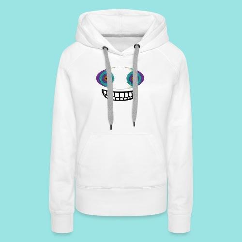 Crazy alpha - Sweat-shirt à capuche Premium pour femmes