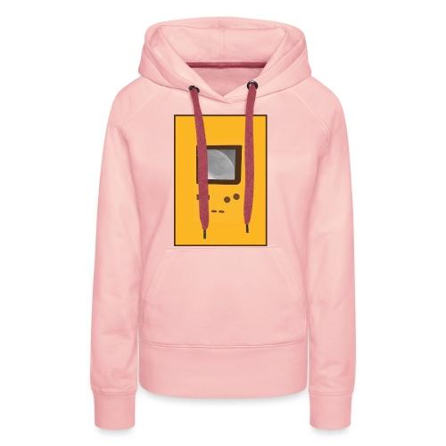 Game Boy Nostalgi - Laurids B Design - Dame Premium hættetrøje