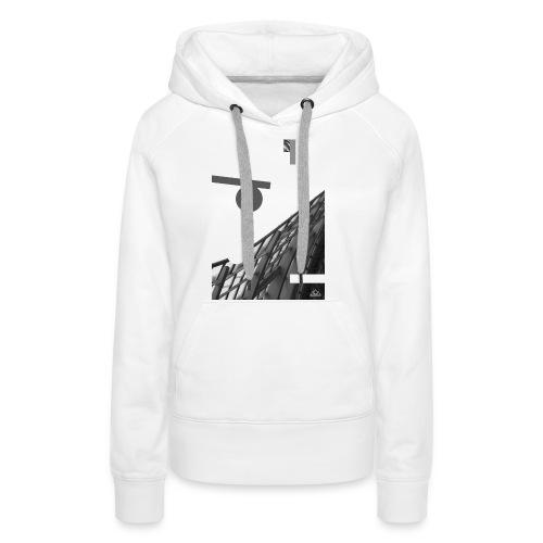 . H A L K O . - Sweat-shirt à capuche Premium pour femmes