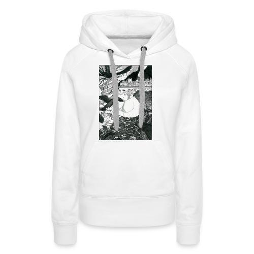 baby - Sweat-shirt à capuche Premium pour femmes