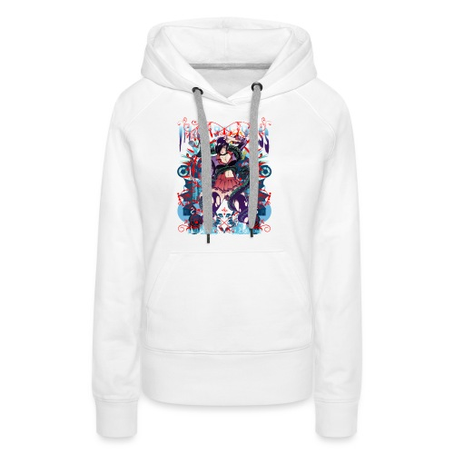 Bliss Yagami Full Colour - Sweat-shirt à capuche Premium pour femmes