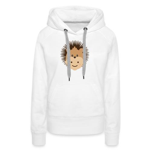 Fin the Hedgehog | Ibbleobble - Women's Premium Hoodie