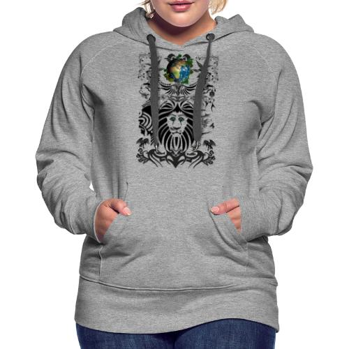 Mother EARTH NatureContest by T-shirt chic et choc - Sweat-shirt à capuche Premium pour femmes