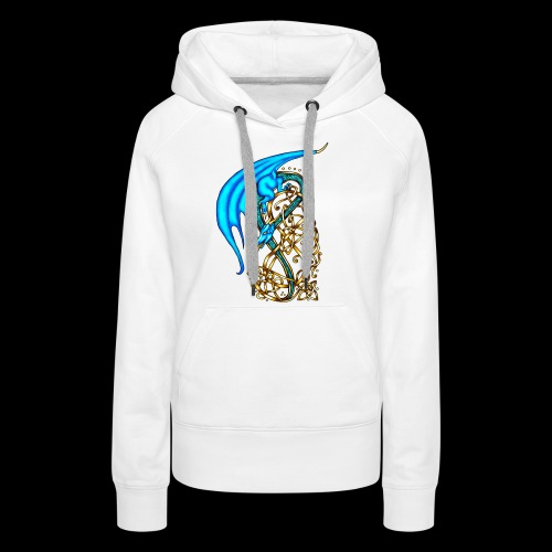 Celtic Dragon - Women's Premium Hoodie