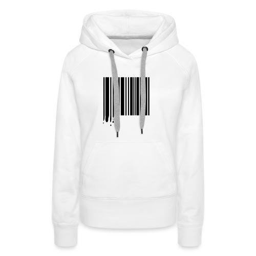 Barcode Black - Women's Premium Hoodie