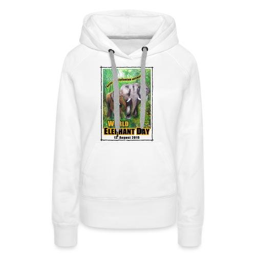 Welt-Elefanten-Tag 12. August 2019 - Frauen Premium Hoodie