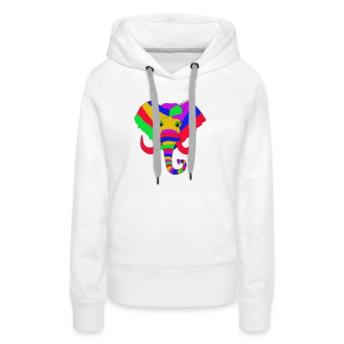 ELEPHANT LOVE AFRICA - Sweat-shirt à capuche Premium pour femmes