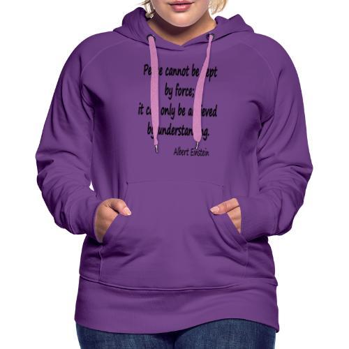 Achieve Peace - Women's Premium Hoodie