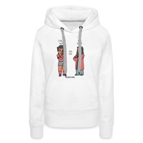 Respect - Sweat-shirt à capuche Premium pour femmes