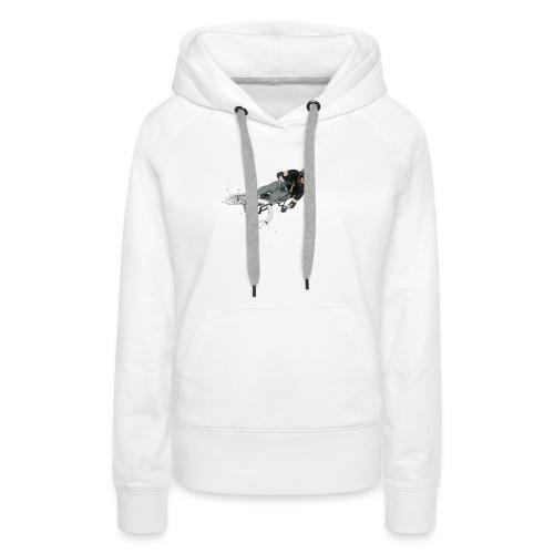 Jump! - Sweat-shirt à capuche Premium pour femmes