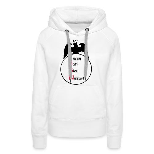 bsn - Sweat-shirt à capuche Premium pour femmes