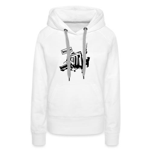 motivshop2_berlin - Frauen Premium Hoodie