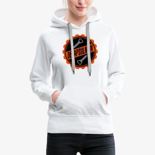 DECAPSULMAN - Sweat-shirt à capuche Premium pour femmes