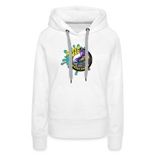 Raven Mad About Rugby - Women's Premium Hoodie