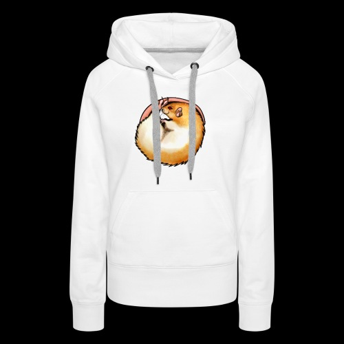 Hooded Rat - silver fawn - Women's Premium Hoodie