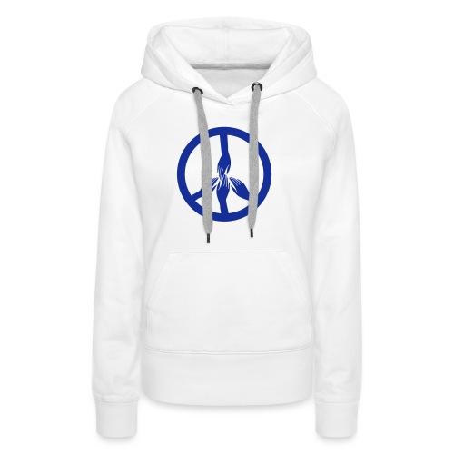 peace - Sweat-shirt à capuche Premium pour femmes