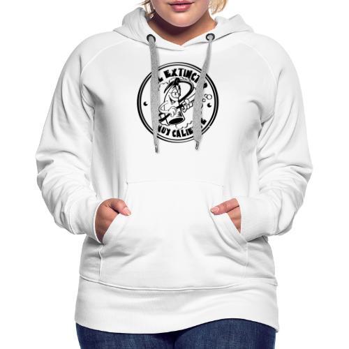 extinctor_1 - Sweat-shirt à capuche Premium pour femmes