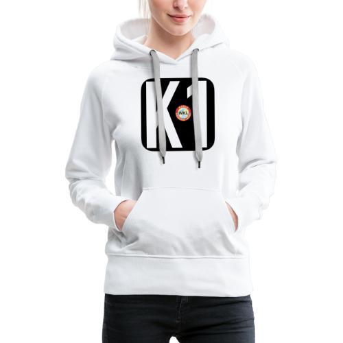 K1 BY WKL - Sudadera con capucha premium para mujer