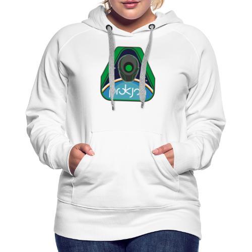 Space Emblem Design - Frauen Premium Hoodie