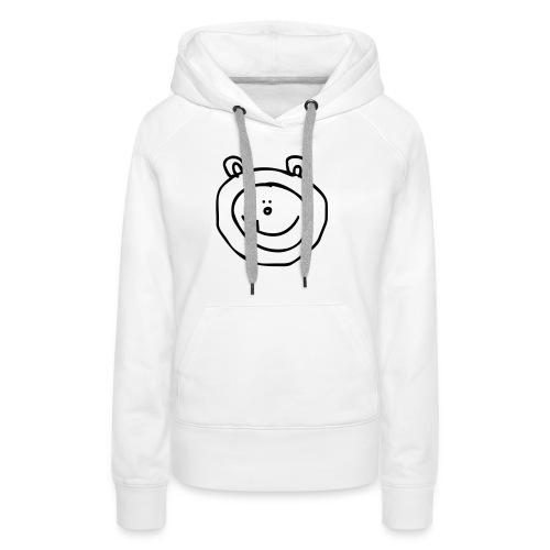 sneeuwbeer - Vrouwen Premium hoodie