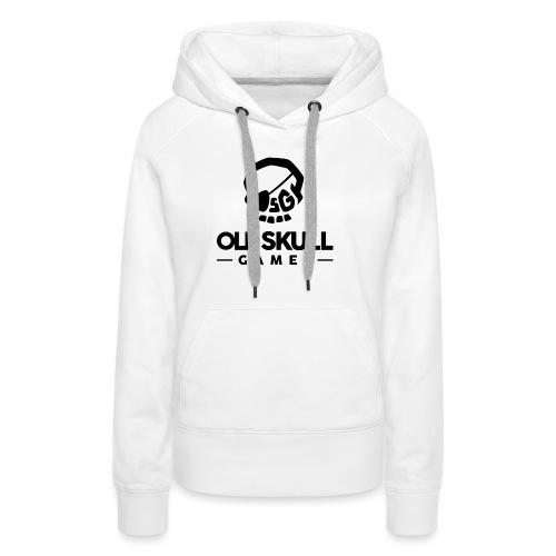 OSG Noir - Sweat-shirt à capuche Premium pour femmes