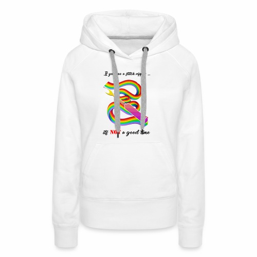 Stitch Ripper = Not Good - Women's Premium Hoodie