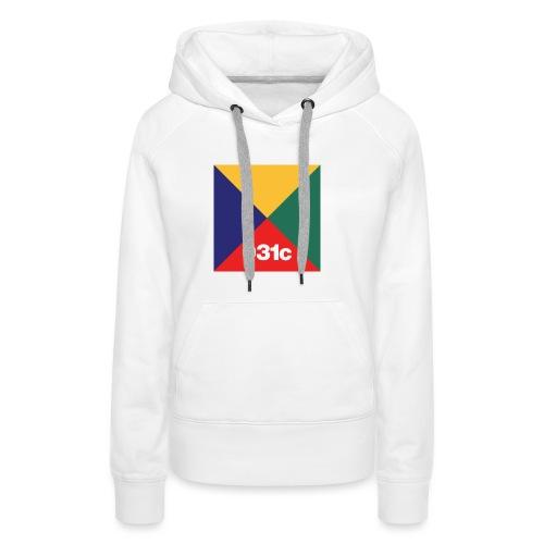 multicolor - Sweat-shirt à capuche Premium pour femmes