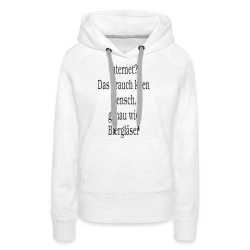 Internet - Frauen Premium Hoodie