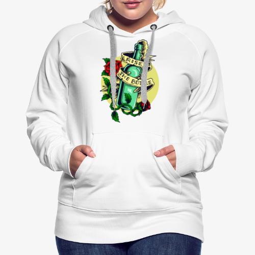 Bouteille d'alcool - Sweat-shirt à capuche Premium pour femmes