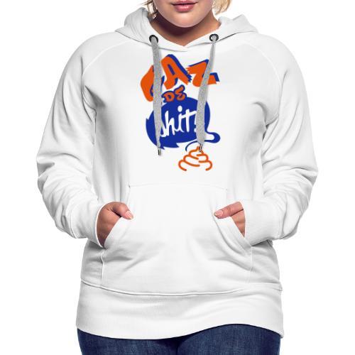 GAZ de Shit - Sweat-shirt à capuche Premium pour femmes