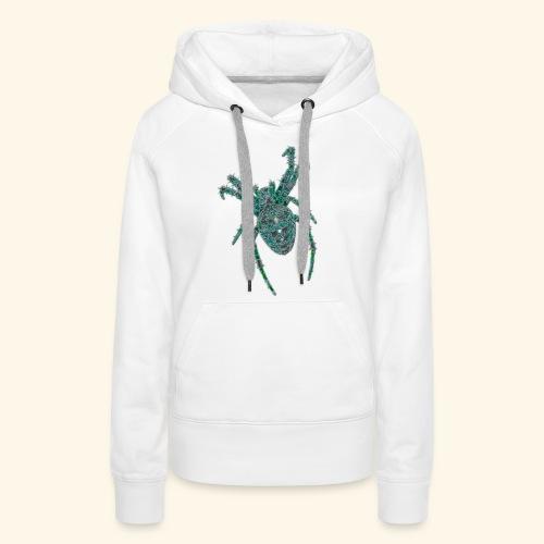 Spider Brooch Digital Art - Women's Premium Hoodie