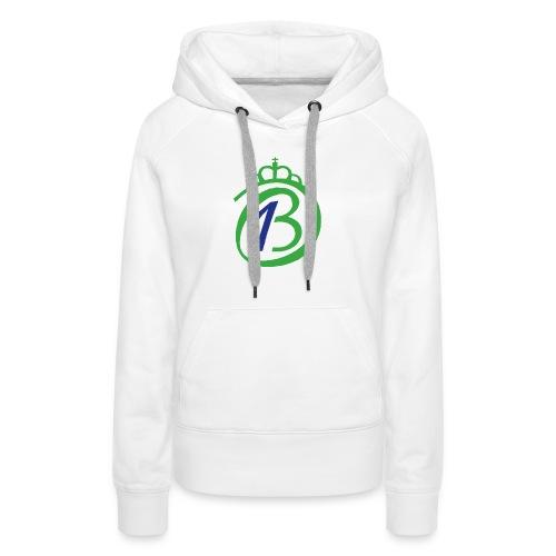 Logo Por nuestro Betis - Sudadera con capucha premium para mujer