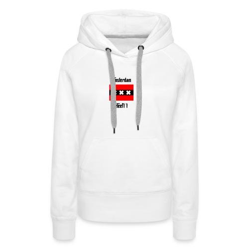 amsterdamontwerp png - Vrouwen Premium hoodie