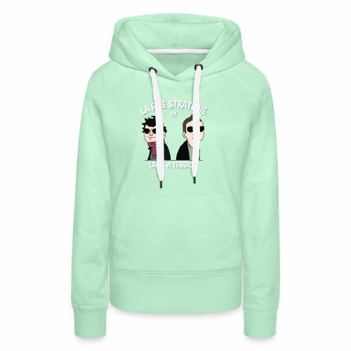 lafinestratégie - Sweat-shirt à capuche Premium pour femmes