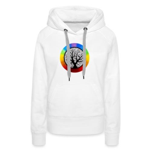 tree of life png - Vrouwen Premium hoodie