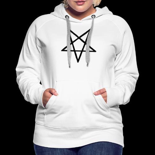 Pentagram2 png - Frauen Premium Hoodie
