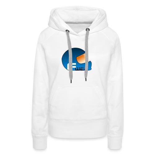 Logo FansWEC - Sweat-shirt à capuche Premium pour femmes
