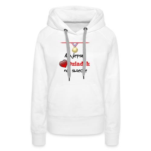 nadruk_rodzinne_01 - Bluza damska Premium z kapturem