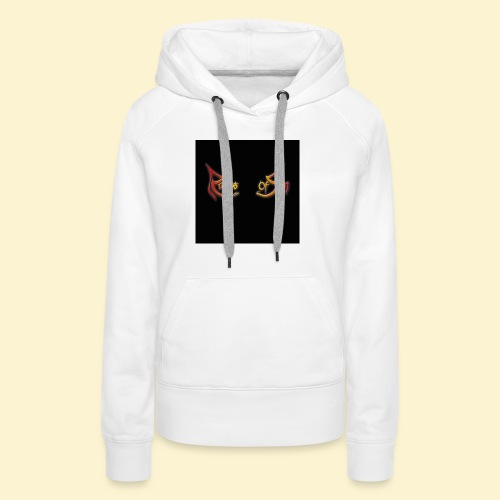 Logo flipflops - Vrouwen Premium hoodie
