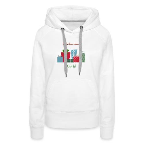 Le plus beau cadeau - Sweat-shirt à capuche Premium pour femmes