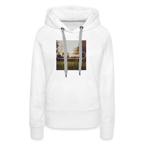 Four Gamers Mok - Vrouwen Premium hoodie